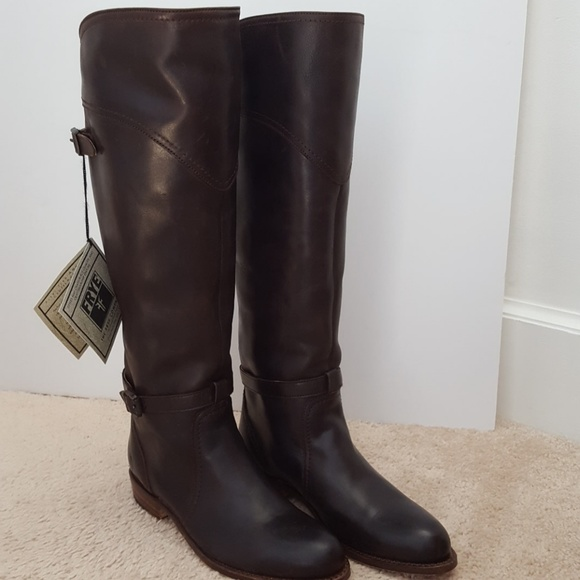 0afdf958868 Frye Dorado brown leather riding boots size 6 NEW